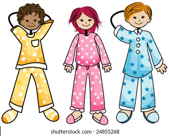 Pajamas Cartoon Hd Stock Images Shutterstock