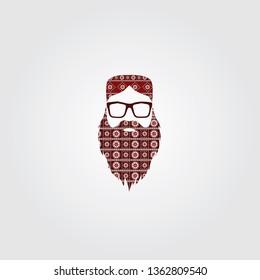 Pakistan Sindhi topi & beard and Mustache culture