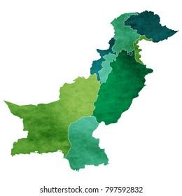 Pakistan Map Images Stock Photos Vectors Shutterstock