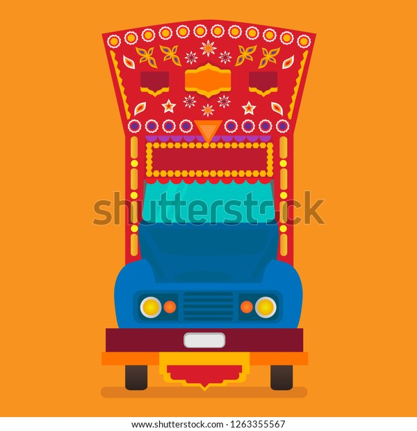 Truck Art Vector Free