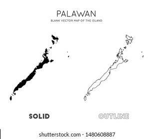 Palawan Island Stock Illustrations Images Vectors