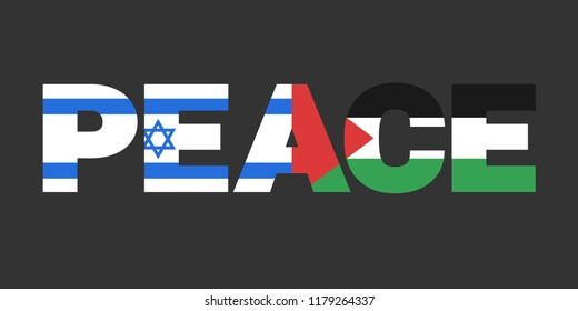 Palestine and Israel as states and coutries in peace and ceasefire. Negotiations, treaties, agreements and deals leading to peaceful coexistence