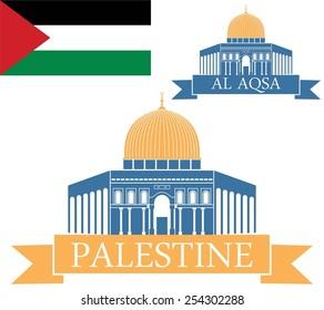 Palestine set. Logo