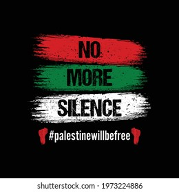 palestine will be free - pray for palestine t shirt design, vector illustration template