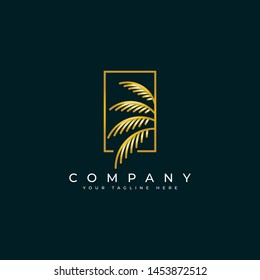 Palm Logo Images Stock Photos Vectors Shutterstock Golden palm tree logo $500. https www shutterstock com image vector palm leaf logo design template elegant 1453872512