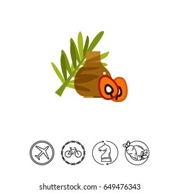 Palm oil icon