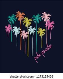 palm summer slogans paradise