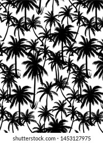 Palm Tree Vector Background Texture