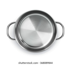 Pan, top view vector object