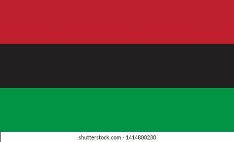 Pan-african flag. Juneteenth, Freedom Day. African-American Independence Day, June 19