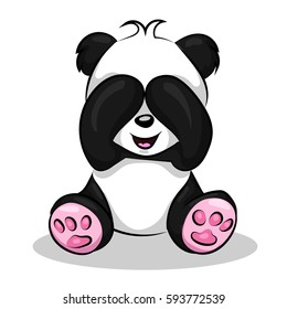 Cute Baby Panda Cartoon Images Stock Photos Vectors Shutterstock