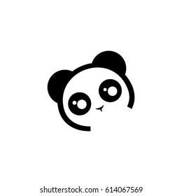 panda icon to logo animal