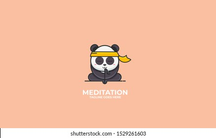 Panda logo design for your projects
