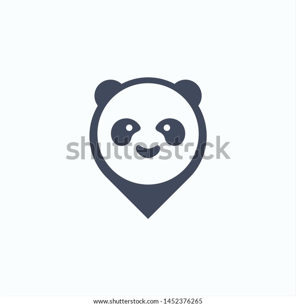 Panda Abstract Art Vector
