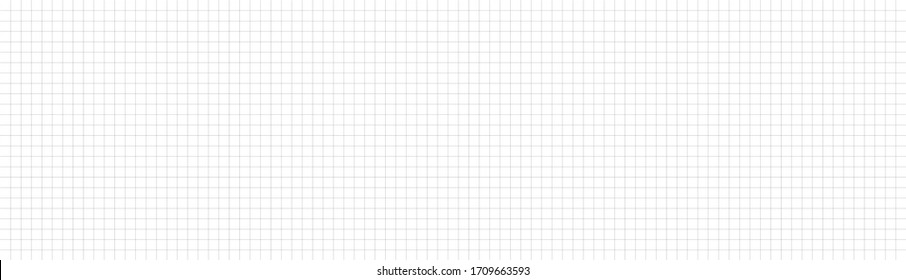 Panorama seamless grid texture. Can be used for web and print design. Editable checkered pattern.