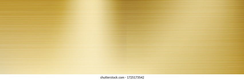 Panorama texture metal gold plating