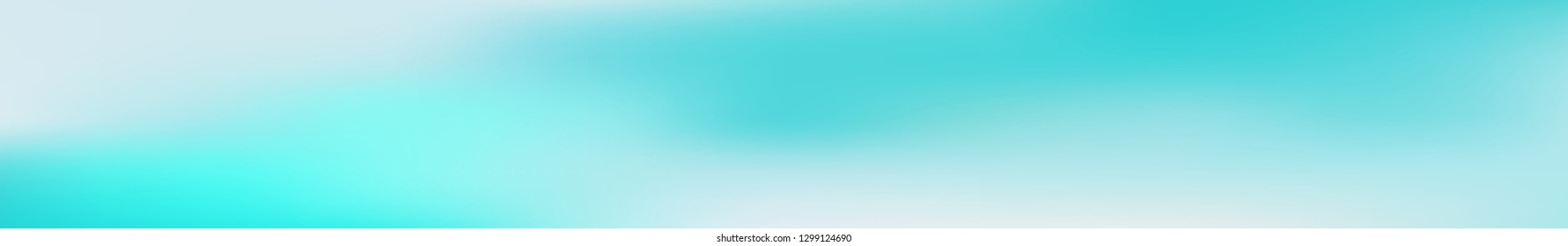 Panoramic gradient mesh abstract background.  Horizontal view for a glass panels - skinali. Trendy soft colors and smooth blend. Modern template with gradient mesh.