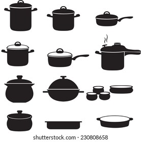 Pans and pots collection