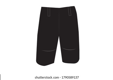 Pant vector design for man