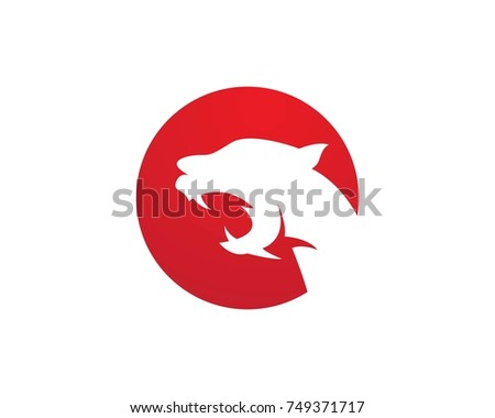 panther logos stock vector royalty free 749371717 shutterstock