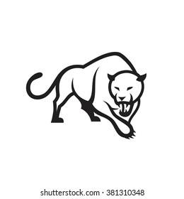 Panther symbol - vector illustration