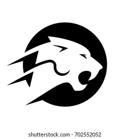 panther vector logo.