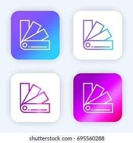 Pantone imgenes pagas y sin cargo y vectores en stock shutterstock pantone bright purple and blue gradient app icon malvernweather Image collections