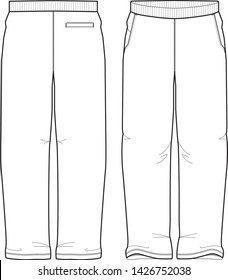 pants vector template graphic illustration sport