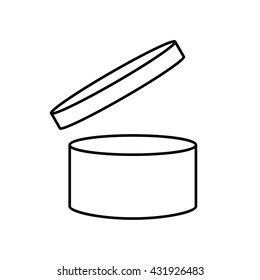 PAO cosmetics symbol , Period after opening symbol . Vector illustration