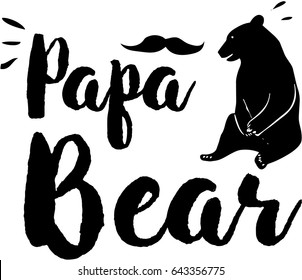 Papa Bear #daddy