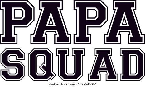 PAPA SQUAD VARSITY