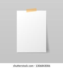 Paper A4 mockup