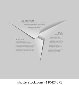 paper background / paper cut / vector