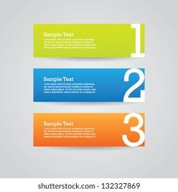 Paper Banner Design