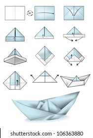 Step Step Making Origami - - Yahoo Image Search Results | Origami ... | 280x188