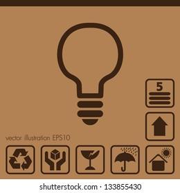 Paper box icons