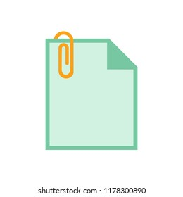 paper clip attachment icon - paper clip, email attachment, attached file