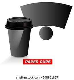 paper cup, cutting