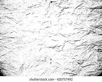 Paper, Distress Texture. Wall Background .Vector Illustration.