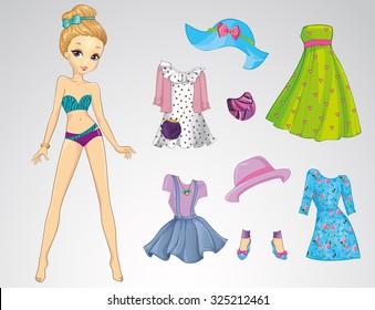 Vectores Imágenes Y Arte Vectorial De Stock Sobre Muñecas