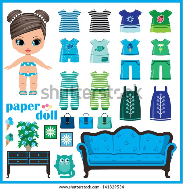 How to Make a Paper Doll House Table & Chairs - Kids Crafts ... | 620x600