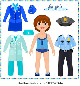 paper doll clothes images stock photos vectors shutterstock