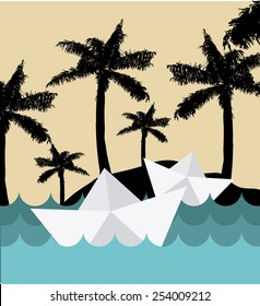 paper dreams design, vector illustration eps10 graphic
