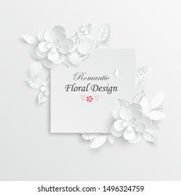 Origami Flower Template Images Stock Photos Vectors Shutterstock