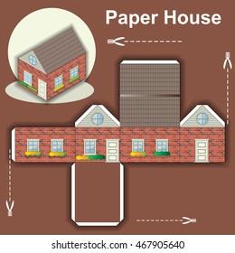Paper Model House Images, Stock Photos & Vectors | Shutterstock