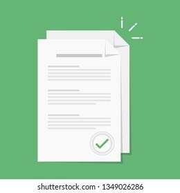Paper icon,Document icon,Vector EPS10.
