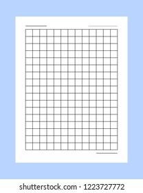 paper manuscript Squared manuscript vector