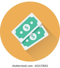 Paper Money Vector Icon