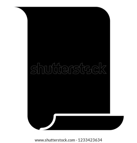 paper papyrus old scroll paper important stock vector royalty free