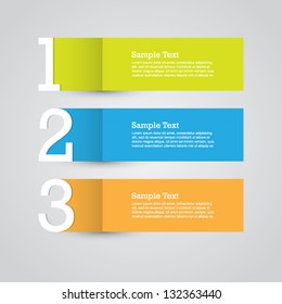 Paper Progress Vector Template